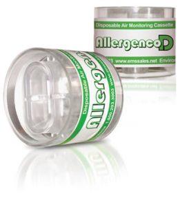 Allergenco-D Disposable IAQ Air Monitoring Cassette