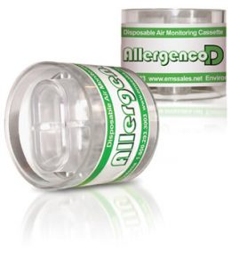Allergenco-D Disposable IAQ Air Monitoring Cassette (box of 50)